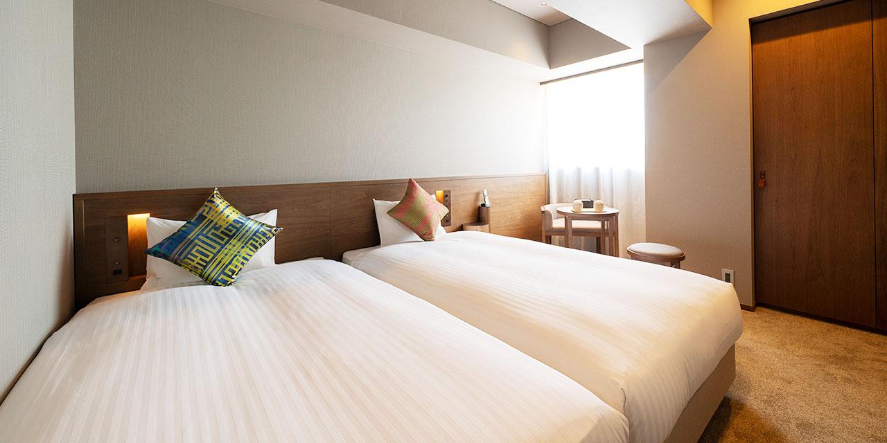 高級雙床房A
