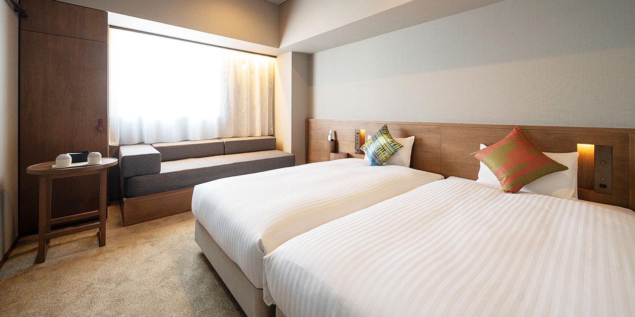 高級雙床房B